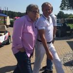 Steffen Göpel begrüßt Mercedes-Markenbotschafter Norbert Haug