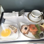 Imbiss in der Business-Class