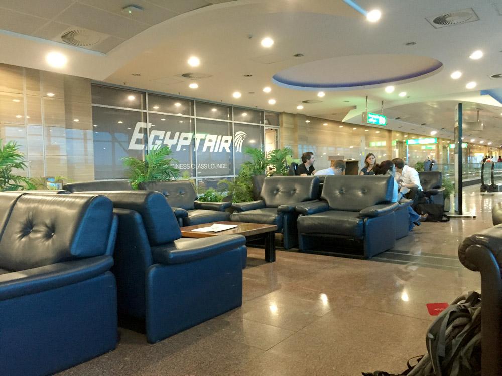 EgyptAir Business-Lounge in Kairo für Domestic Flights