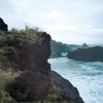 Steilküste bei Agua de Pau