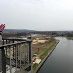 Aussicht auf den unteren Kanal
