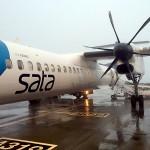 Angenehmer Flug mit SATA